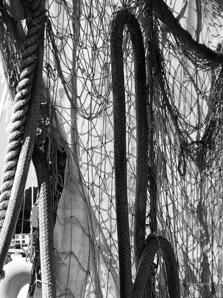 Photograph - Fishing Net by Xueling Zou