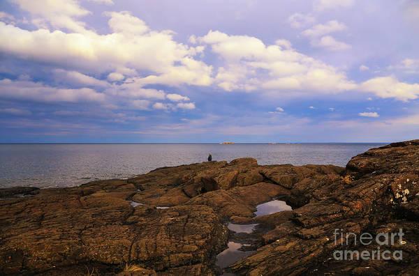 Photograph - Fishing On Presque Isle by Rachel Cohen