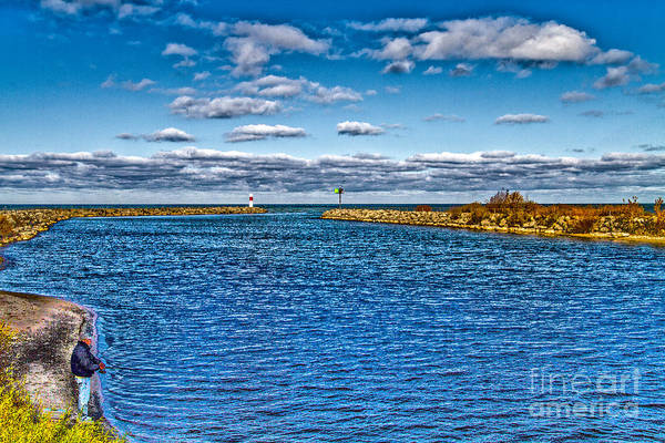 Photograph - Fishing On The Bay by William Norton