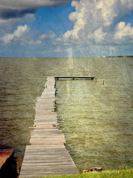 Photograph - Fishing Peir by Charles McKelroy