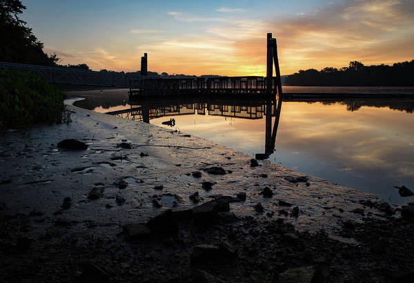 Photograph - Fishing Pier At Dawn by Kyle Lee