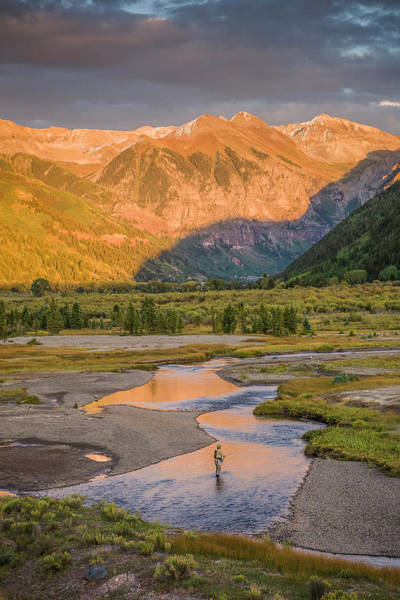 Photograph - Fishing Telluride 2 by Whit Richardson