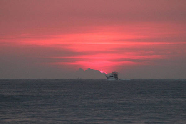 Photograph - Fishing Under A Pink Sunrise by Robert Banach