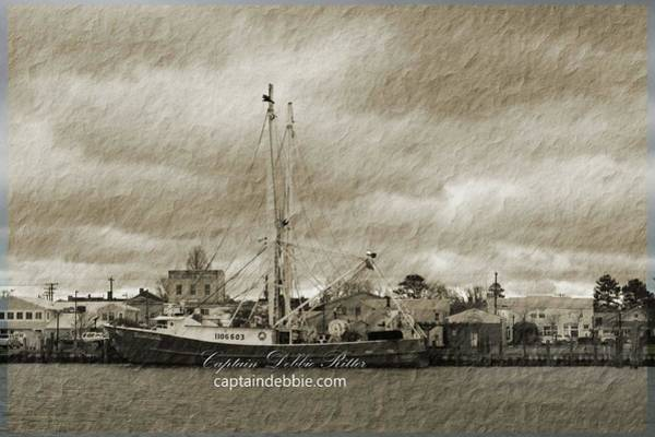 Photograph - Fishing Vessel Nicole by Captain Debbie Ritter