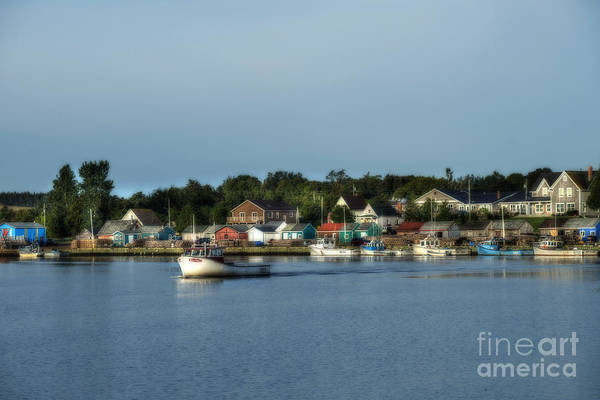 Photograph - Fishing Village Coast Of Canada by Dan Friend