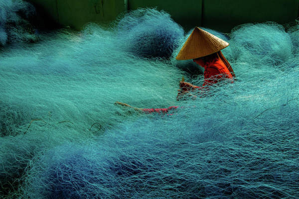 Photograph - Fishnet by Okan YILMAZ