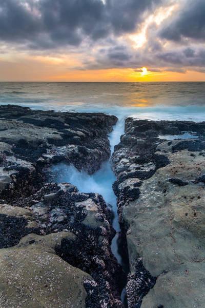 Wall Art - Photograph - Fissure Sunset by Robert Bynum