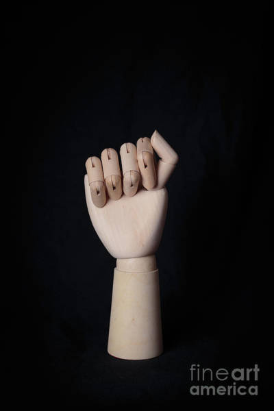 Photograph - Fist by Edward Fielding