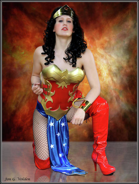 Photograph - Fist Of A Wonder Woman by Jon Volden