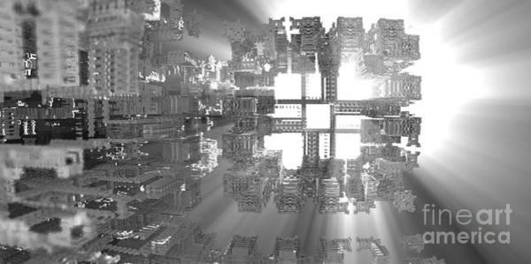 Digital Art - Fitting In by Jon Munson II
