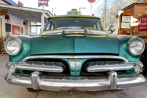 Wall Art - Photograph - Fifty Six Dodge Vintage Antique Car Fifties by Jane Linders