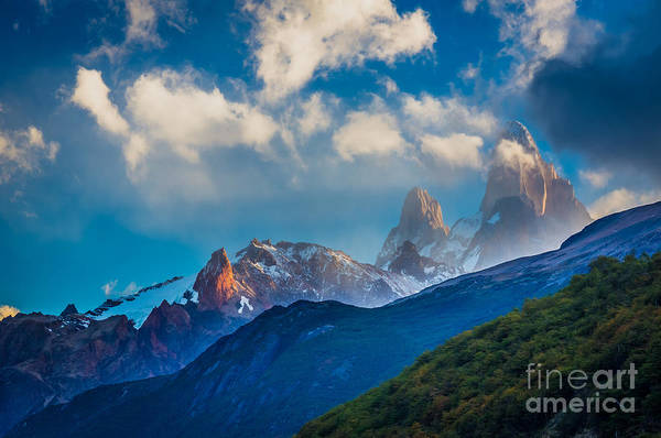 Photograph - Fitz Roy Cloudbreak by Inge Johnsson