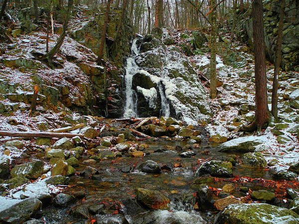 Photograph - Fitzgerald Falls Is Along The Appalachian Trail 6 by Raymond Salani III