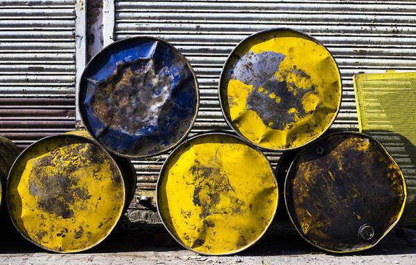 Drum Circle Wall Art - Photograph - Five Circles by Prakash Ghai