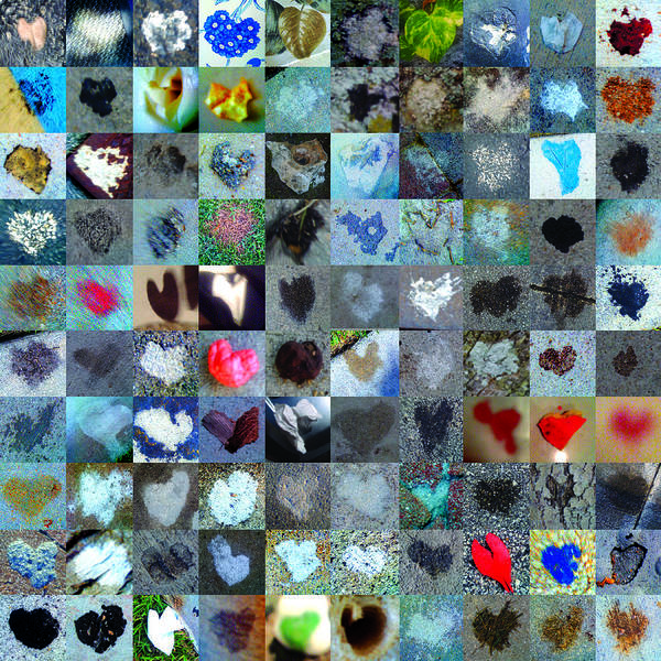 Mosaic Photograph - Five Hundred Series by Boy Sees Hearts