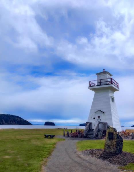 Ken Morris Digital Art - Five Islands Lighthouse by Ken Morris