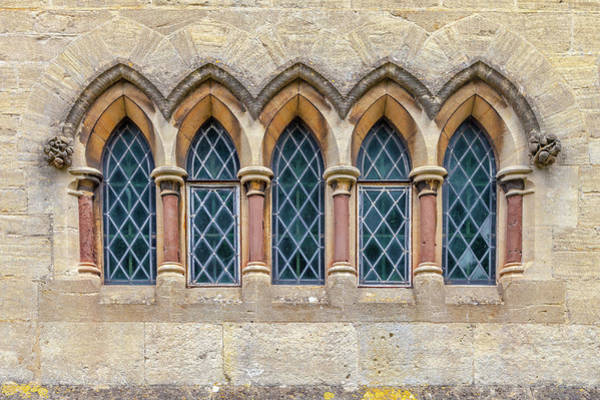 Wall Art - Photograph - Five Little Arches by W Chris Fooshee
