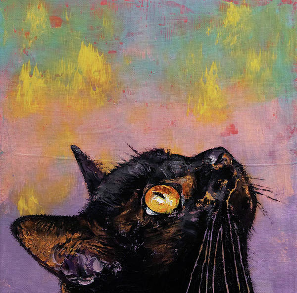 Wall Art - Painting - Fixed Gaze by Michael Creese