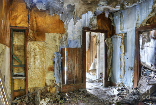 Condemned Wall Art - Photograph - Fixer Upper by Juli Scalzi
