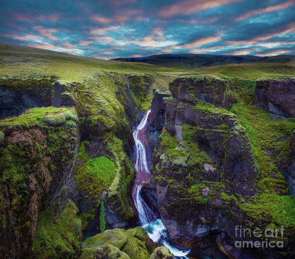 Photograph - Fjadrargljufur by Inge Johnsson