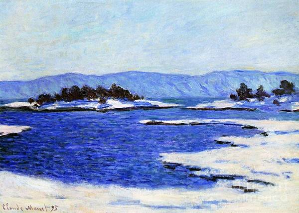 Norway Painting - Fjord At Christiania by Claude Monet
