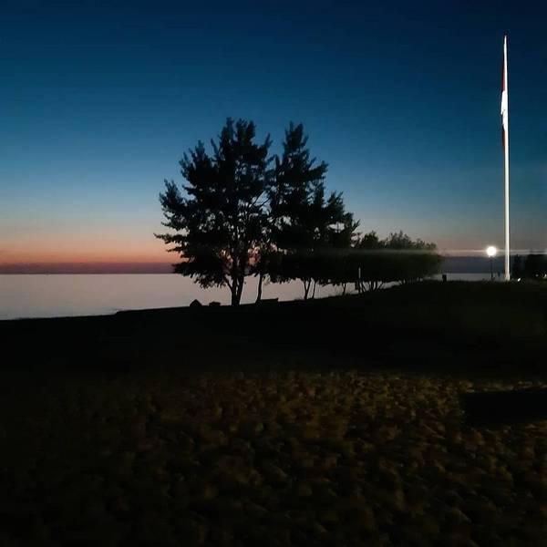 Wall Art - Photograph - Flag At Twilight by Juli Kreutner