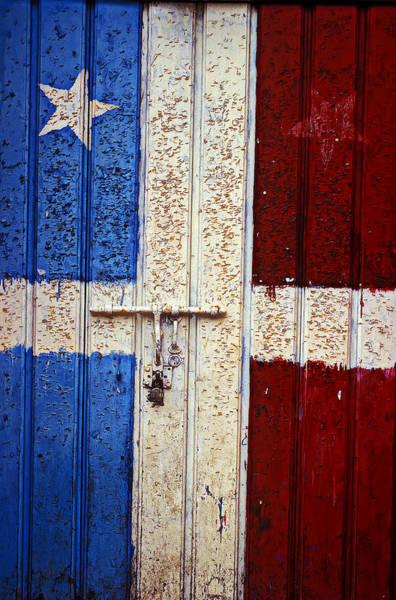 Wall Art - Photograph - Flag Door by Garry Gay