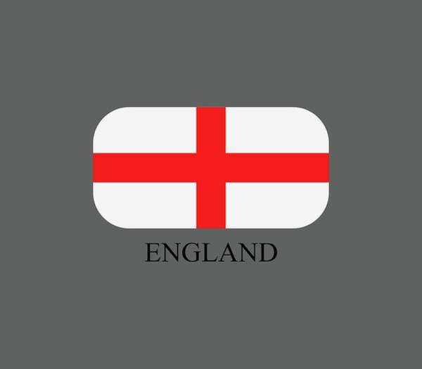 Blue Digital Art - Flag England by Marco Livolsi