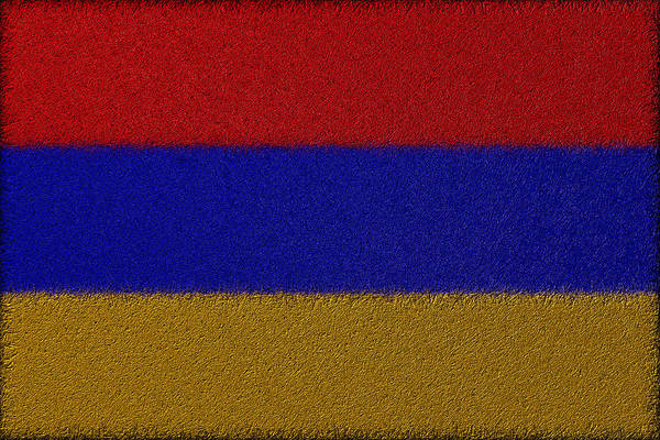 Digital Art - Flag Of Armenia by Jeff Iverson