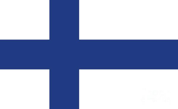 Wall Art - Digital Art - Flag Of Finland by Bruce Stanfield