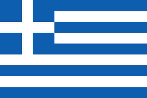 Photograph - Flag Of Greece by Robert Banach