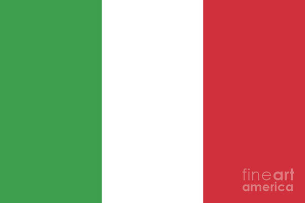 Wall Art - Digital Art - Flag Of Italy by Bruce Stanfield