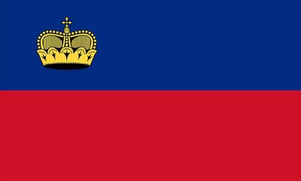 Liechtenstein Digital Art - Flag Of Liechtenstein by Artpics