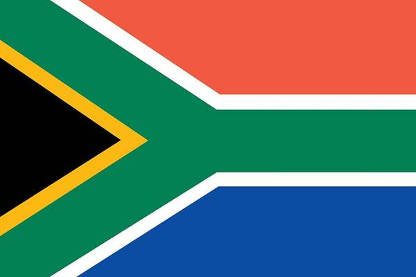 Painting - Flag Of South Africa by Unknown