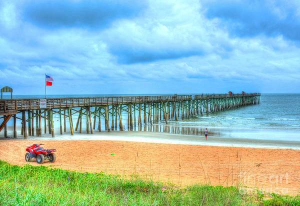 Flagler Beach Photograph - Flagler Beach by Debbi Granruth