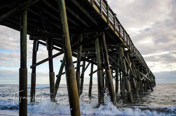 Flagler Photograph - Flagler Beach Pier by Tiffany Katz