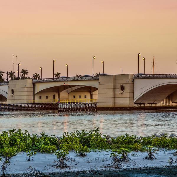 Photograph - Flagler Bridge In The Evening II by Debra and Dave Vanderlaan