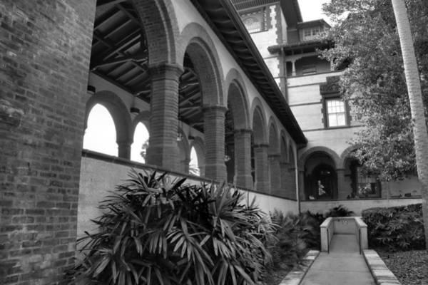 Flagler Photograph - Flagler College Walkway by Larry Jones