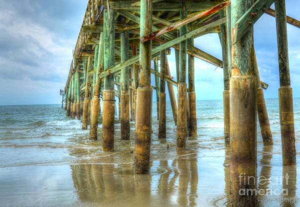 Flagler Beach Photograph - Flagler Pier by Debbi Granruth