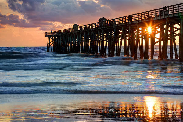 Flagler Beach Photograph - Flagler Pier by Rick Mann