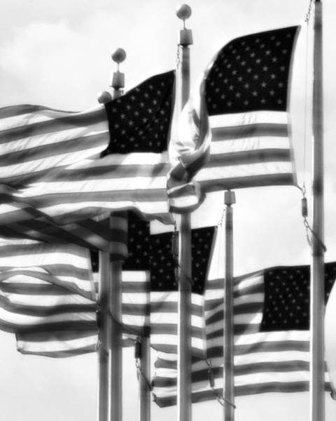 Wall Art - Photograph - Flags by John Gusky