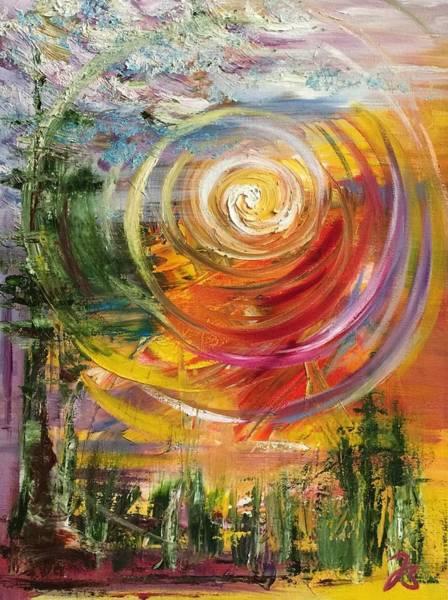 Flagstaff Painting - Flagstaff by Brittney Swan