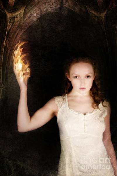 Photograph - Flame by Clayton Bastiani