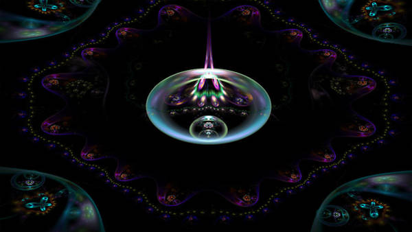 Digital Art - Flame Element by Barbara A Lane