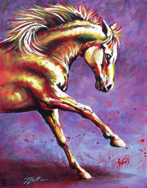 Painting - Flame by Tish Wynne