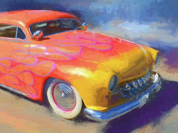 Digital Art - Flamed Mercury by David King
