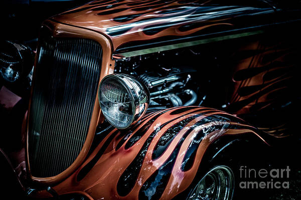 Rod Taylor Photograph - Flamed Out  by Pamela Taylor