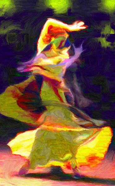 Digital Art - Flamenco 1 by Caito Junqueira