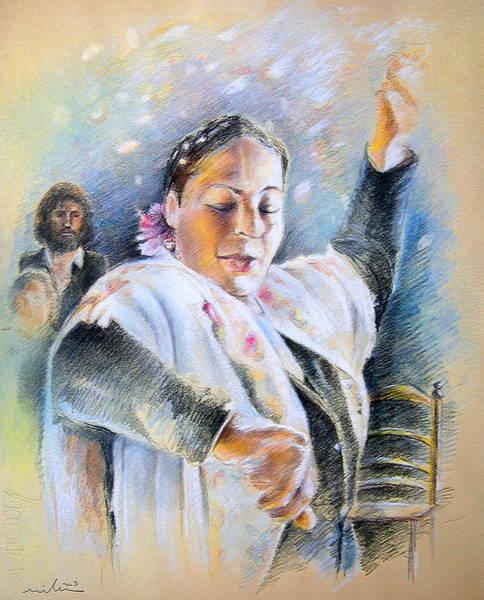 Painting - Flamenco Dancer by Miki De Goodaboom