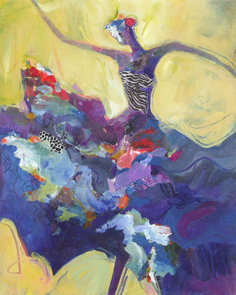 Dancers Wall Art - Painting - Flamenco Dancer No 5 by Shelli Walters